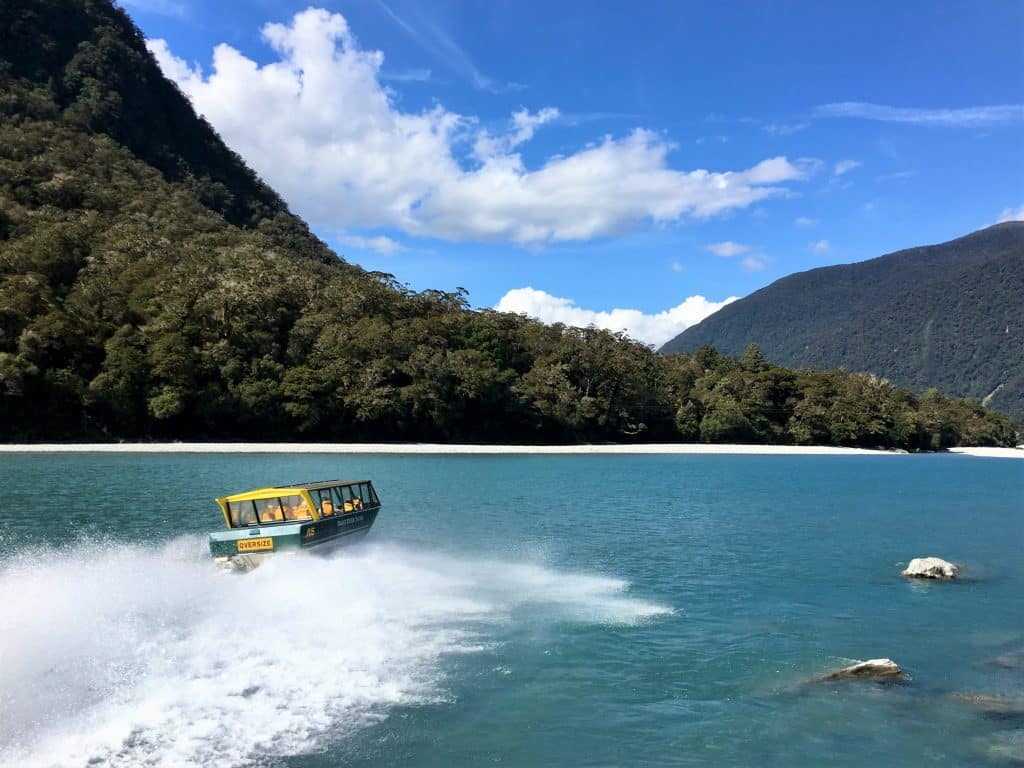 Haast River Jet Boat Safari – West Coast Wilderness / Great Southern Circuit